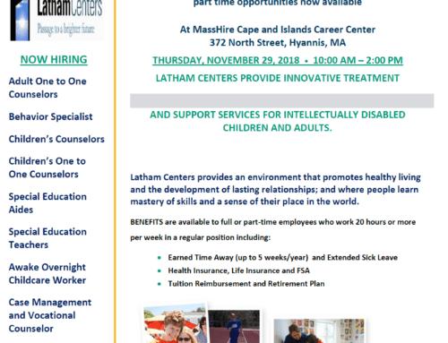 Latham Center – Hiring Event